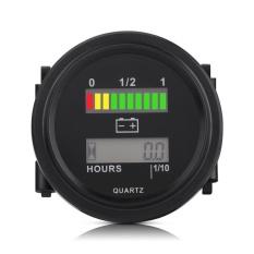 12 V 24 V 36 V 48 V 72 V Led Digital Indikator Baterai Gauge Dengan Jam Meter Untuk Golf Cart Intl Murah