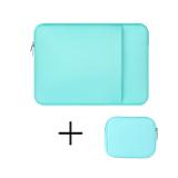 Review Tentang 13 Inch Laptop Sleeve Case Notebook Bag Untuk Macbook Air Notebook Tablet Kecil Power Tas Hijau