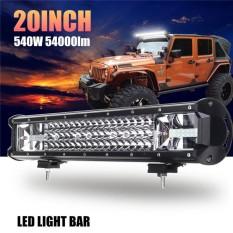 135 W Offroad Lampu Kabut Mengemudi 20 Inch LED Work Light Bar Banjir Lampu Spotlight Combo Truk Mobil Kendaraan Mobil Light IP68 DC10-30V-Intl