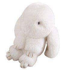 Beli 13 Cm Kelinci Bulu Keychain Pendant Bag Cute Mini Kelinci Mainan Boneka Putih Oem Online