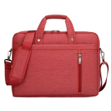 Beli 14 Inch Laptop Shoulder Messenger Bag Waterproof Nylon Gaya Untuk 14 1 Inch Laptop Merah Ekspor Online Murah