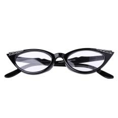 + 1.5 Wanita Kucing Mata Membaca Kacamata Presbiopik Lensa Kacamata Resin Len-Internasional