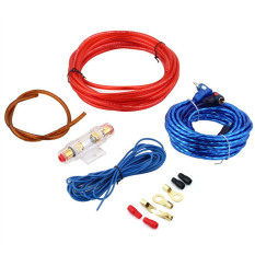 Toko 1500 Watt 8Ga Subwoofer Kabel Audio Mobil Amplifier Penguat Dudukan Sekering Kawat Kabel Kit Internasional Terdekat