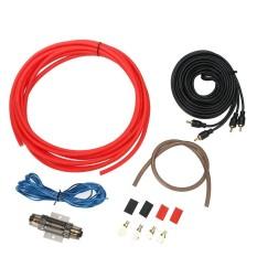 1500 W Mobil Audio Speaker Wiring Refitting Alat 8GA Kit Penguat Amplifier-Intl