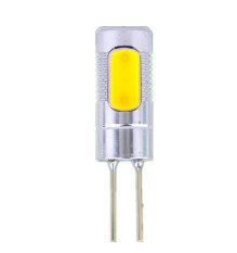 Jual 1 5 W 12 V G4 Base Cob Smd 1Led Dingin Putih Light Spot Bulb Lamp Branded