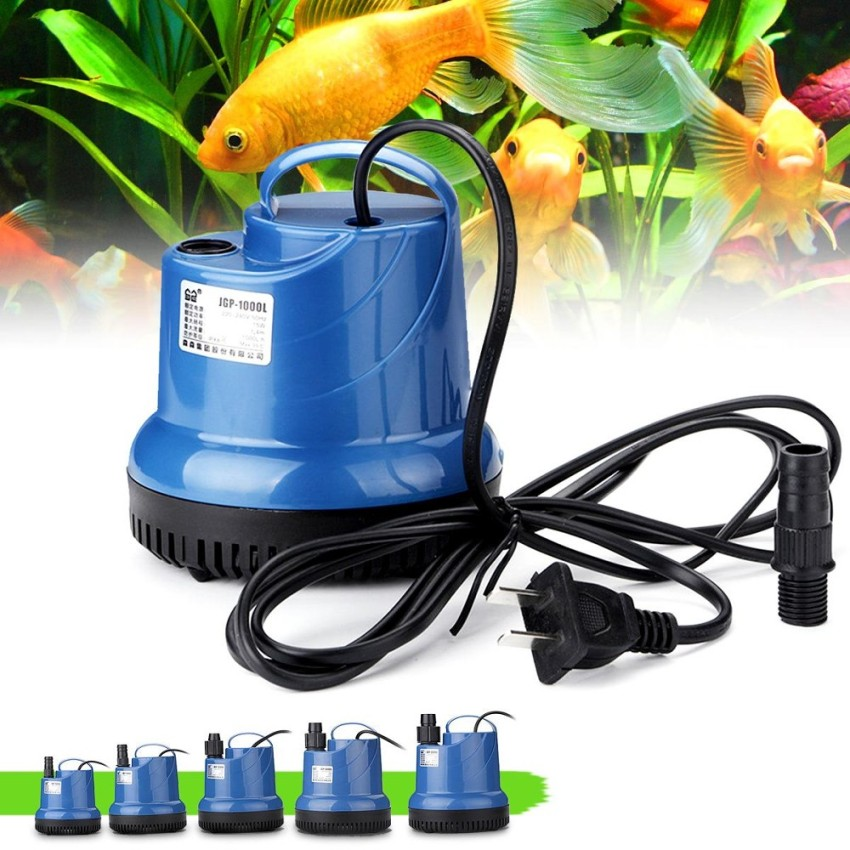 IDR174,300.00; 15 W Submersible Pompa Air Aquarium Fish Tank Fountain Hidroponik 220 V Blue-Intl