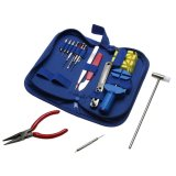 Beli 16 Pcs Watchaker Pin Reover Adjuster Case Pembuka Watch Repair Tool Set Kit Terbaru