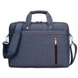 17 Inch Laptop Shoulder Messenger Bag Waterproof Nylon Gaya Untuk 17 3 Inch Laptop Biru Ekspor Diskon Tiongkok