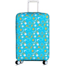 Ulasan Mengenai 18 20 Inch Anti Dust Suitcase Cover Luggage Protector Spandex Elastic Covers For Trunk Case Trolley Case Apply To 18 20 Inch Suitcase Cover Only