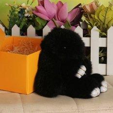 18 cm Dengan Bulu Kelinci Imut Kelinci Mini Keychain Pasangan Mainan Tas Boneka KelabuIDR88200. Rp 89.100