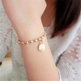 Harga 18 K Korea Fashion Style Beruntung Kucing Transfer Manik Manik Gelang Other Original