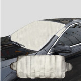 Model 190X70 Cm Penutup Kaca Depan Mobil Anti Salju Frost Ice Shield Debu Heat Sun Shade Terbaru