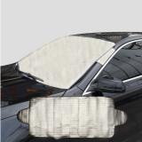 Beli 190X70 Cm Penutup Kaca Depan Mobil Anti Salju Frost Ice Shield Debu Heat Sun Shade Online Tiongkok