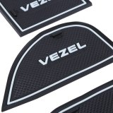 Model 19 Pcs Auto Aksesoris Mobil Interior Door Rubber Non Slip Piala Mat Holder Gate Slot Pad Untuk Honda Vezel Terbaru