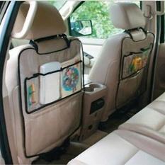 "1 PC Mobil Auto Seat Back Protector Cover Bandung Photo: ""Kick Mat Storage Bag-Intl"