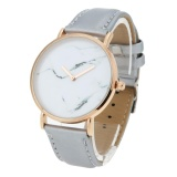 Toko 1 Pc Tinta Cina Gaya Marmer Gelang Tahan Air Casual Chic Quartz Watch Grey Intl Online Terpercaya