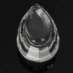 Harga 1 Buah Lampu Gantung Kristal Bening Kaca Prisma Bagian Menggantung Tetes Liontin 63Mm Baru Internasional Oem Baru