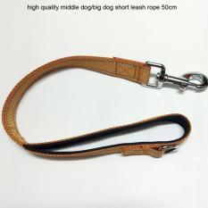 Spesifikasi 1 Pc Pendek Leash Tali Untuk Anjing Breed Menarik Kualitas Tinggi Anjing Pendek Kuat Anjing Sabuk Kerah Traksi Tali Cl106Coffee Intl Terbaru