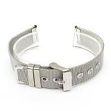 Spesifikasi 1 Pc Solid Stainless Steel Watchbands 18Mm 20Mm 22Mm Fashion Gesper Klasik Buckle Lurus Akhir Men Watch Aksesoris Watch Strap Intl Murah Berkualitas