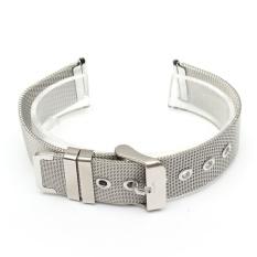 Jual 1 Pc Solid Stainless Steel Watchbands 18Mm 20Mm 22Mm Fashion Gesper Klasik Buckle Lurus Akhir Men Watch Aksesoris Watch Strap Intl Antik