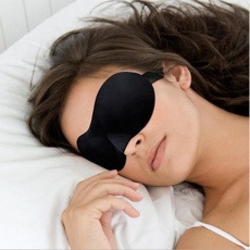 1 Pcs 3D Sleep Mask Natural Tidur Mata Topeng Pelindung Mata Cover Shade Eye Patch Wanita