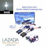 Jual 1Set Hid Kit Cnlight Type H7 Komplit Mobil 6000K Putih Termurah