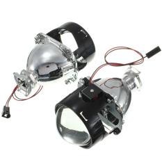 Diskon 6 35 Cm Dwi Xenonfx Hid Proyektor Kit Lensa Konversi Ccfl Lampu Mobil Lampu Angel Eye Biru