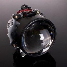 6.35 Cm Mobil mini Proyektor Bi-xenon HID Lensa Malaikat Mata Lampu Kain Kafan H1 H4 H7