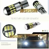 Spesifikasi 2 Biji Lampu Led Senja T10 Rotary 30 Mata 3014 Canbus 12V 24V Mobil Motor Arsystore Putih Murah Berkualitas