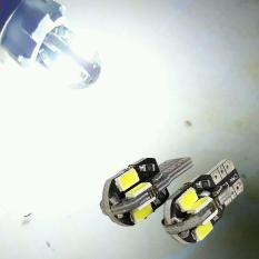 2 Biji Lampu Led Motor Mobil Senja Sein Sen 8 Titik 5730 Monster Model Panah T10 W5W Arsystore ARSY - Putih