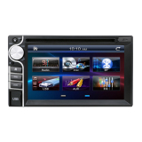 Beli 2 Din Car Dvd Without Gps Player Double Radio Stereo In Dash Mp3 Head Unit Camera Parking Hd Video Audio Online