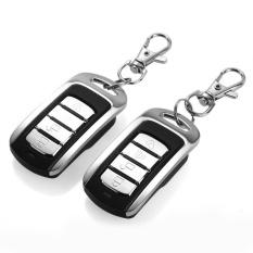 2 Pintu Remote Keyless Entry Central Kunci Mengunci Kit dan Car Alarm-Intl