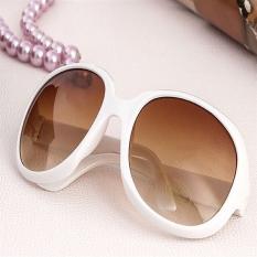 #2 Fashion wanita kacamata hitam besar di luar rumah warna bingkai kacamata U207 - International