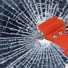 2 In 1 Mobil Palu Keselamatan Menyelamatkan Hidup Melarikan Diri Palu Darurat Kursi Pemotong Sabuk Jendela Pemecah Kaca Alat Penyelamatan Mobil-Intl