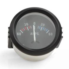 Beli 2 Inch 52Mm Universal Ammeter 60 60 Amp Gauge Meter Voltmeter Gauge Untuk Review Mobil Perahu Truk Atv Amp Meter Auto Cicil