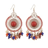 Beli 2 Pcs Gaya Korea Disc Anting Anting Tassel Fashion Retro Bohemian Style Intl Not Specified Murah