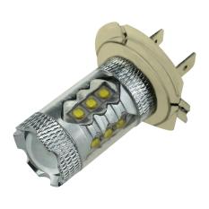 2 X H7 80 W Cree LED Kabut Ekor Berkendara Mobil Lampu Utama Bohlam Lampu Putih Super Terang-Intl