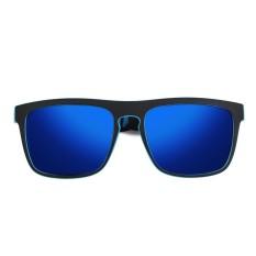 2 X Kdeam Kacamata Terpolarisasi Kacamata Hitam Retro Persegi Luar Ruangan Olahraga Bersepeda Helm Matahari Kacamata C1-Internasional