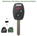 Beli 2003 2007 Remote Kunci With Bilah Id46 433 Mhz Untuk Honda Accord Cocok Civic Odyssey 3 2 X 1 Tombol Entri Tanpa Kunci Alarm Mobil Memperdaya Case Terbaru