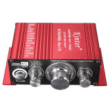 Toko Jual 200 Watt 12 V Mini 2Ch Hi Fi Penguat Dvd Mp3 Stereo Untuk Sepeda Motor Mobil Rumah Intl