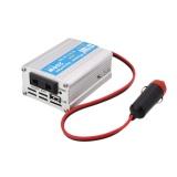Spesifikasi 200 W Mobil Power Inverter Usb Konverter Dc 12 V Ke Ac 220 V W Adaptor Plug Compact Intl Terbaru