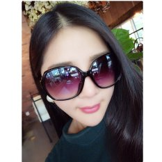 Toko 2015 Gaya Musim Panas Baru Tercermin Polarized Sunglasses Wanita Hitam Terlengkap Tiongkok