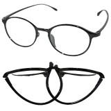 Obral 2015 Tr90 Lebih Dari Ukuran Frame Black Round Kacamata Baca 1 5 Murah