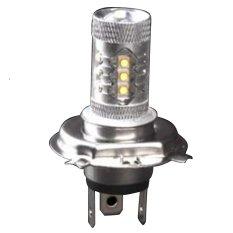 Beli 2016 2 Xsuper Putih H4 Hb2 9003 80 W Led Proyektor Hi Lo Beam Headlamp Conversion Oem