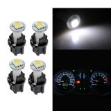 Miliki Segera 2016 281 Putih 10 Pcs Putih T5 Smd 5050 Led Twist Socket Instrumen Panel Dash Light Bulb