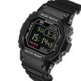 Beli 2016 Best Quality Sanda 329 Outdoor Sports Men S Multifunctional Waterproof Noctilucent Watch Black Secara Angsuran