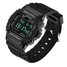 2016 Brand SANDA Fashion Watch Pria G Gaya Tahan Air Olahraga Militer Jam Tangan Shock Pria Mewah Analog QUARTZ Digital Watches (hitam)