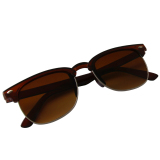 Beli 2016 Hot Stylish Unisex Full Frame Cool Sunglasses Hll 254 Brown Banten