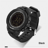Jual 2016 Best Quality 340 Big Dial Multifunctional Fashion Outdoor Sports Waterproof Watch Black Original