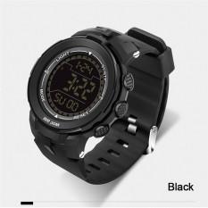 Harga 2016 Best Quality 340 Big Dial Multifunctional Fashion Outdoor Sports Waterproof Watch Black Yg Bagus